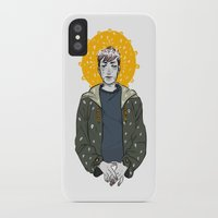 kieren walker iPhone & iPod Cases featuring Kieren Walker by timeflashh