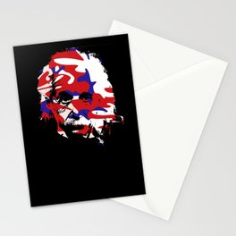 Genius in disguise art print Stationery Cards