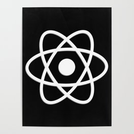 Atom | Science | Molecules Poster