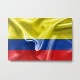 Colombian Flag Metal Print