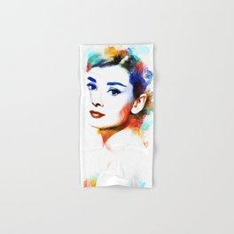 Audrey Hepburn Hand & Bath Towel