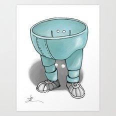 Plastic Pants Art Print