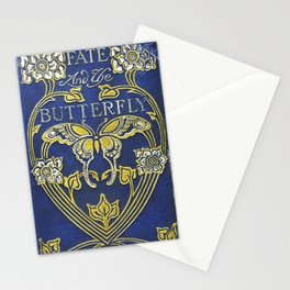 Fate and the Butterfly Book Cover Stationery Cards