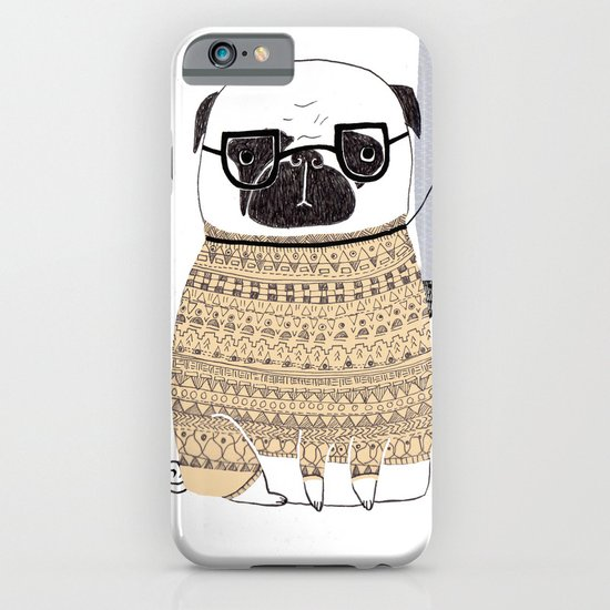 Pug  iPhone & iPod Case