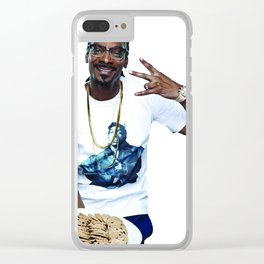 Snoop and Cookies Clear iPhone Case