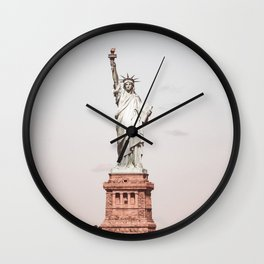Vintage Statue of Liberty NY Wall Clock
