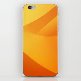 Orange Wallpaper iPhone Skin