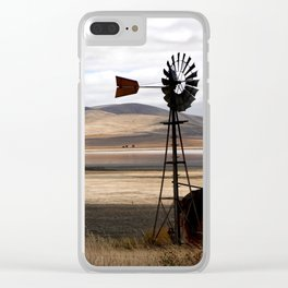 Rural Landscape of Rolling Hills in Australia Clear iPhone Case