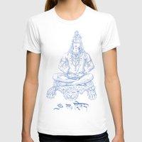 shiva T-shirts featuring SHIVA by Only Vector Store - Allan Rodrigo