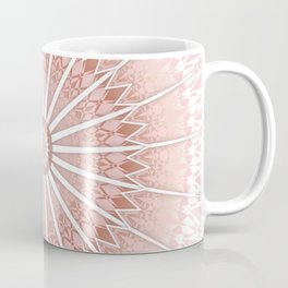 Blush Apricot Mandala Coffee Mug