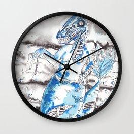 Frankenstien's Mermasaur Wall Clock