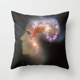 The Antennae Galaxies Throw Pillow