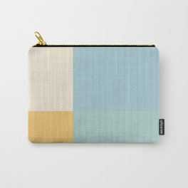 Color Block Lines III Carry-All Pouch