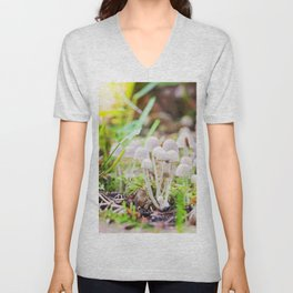 Toxic mushrooms Unisex V-Neck