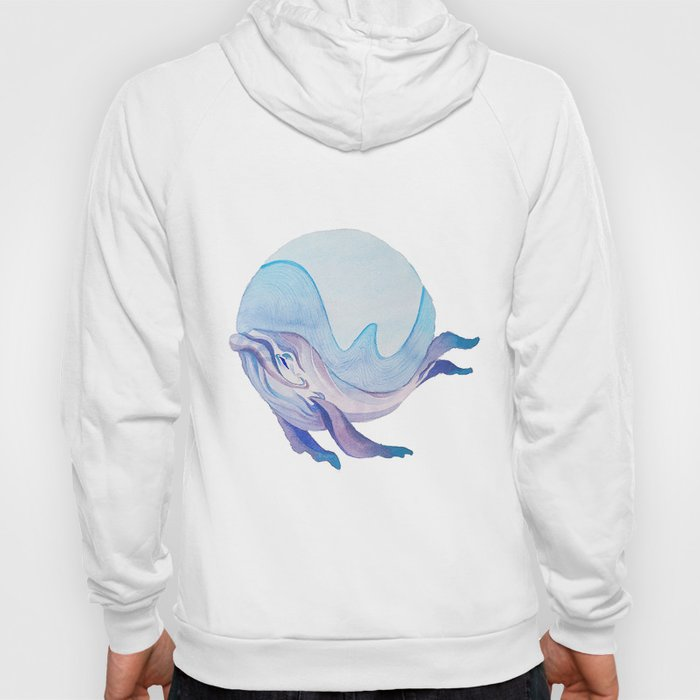 W is for Whale Hoody