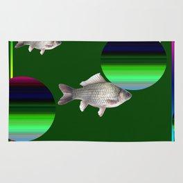 fish miracle Rug
