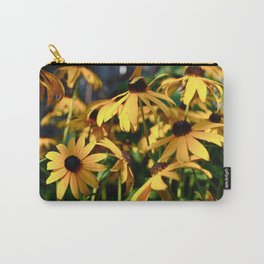 Black and Yellow. Carry-All Pouch