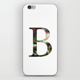 "Initial letter ""B"" iPhone Skin"