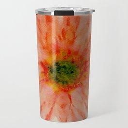 salmon flower Travel Mug