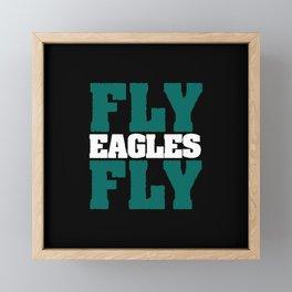Fly Eagles Fly Framed Mini Art Print