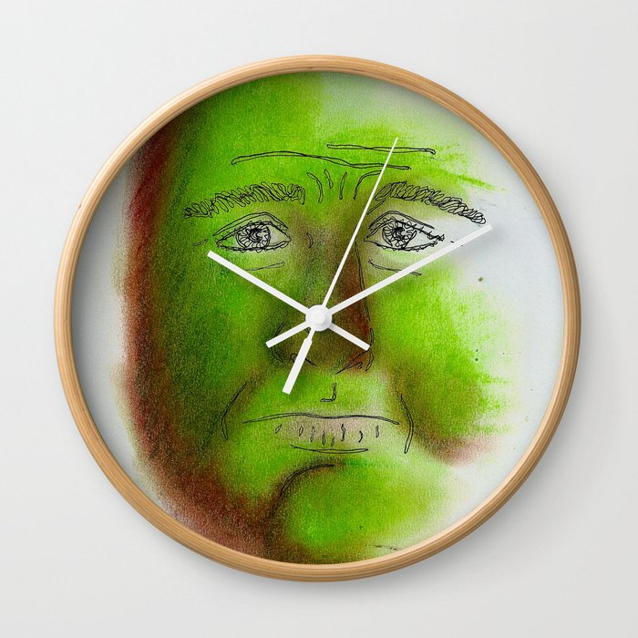 Grumpy Wall Clock
