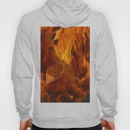 Eagle Flying into the Flames Hoody