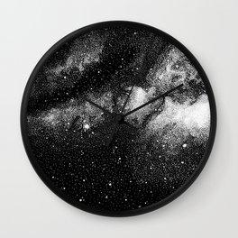 The stars at night are big and bright Wall Clock