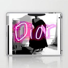 fashion icon no 3 neon edition Laptop & iPad Skin