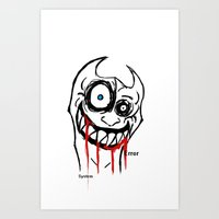 I'm SOOOOO Happy Art Print