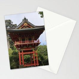 Treasure Tower Pagoda in San Francisco Stationery Cards