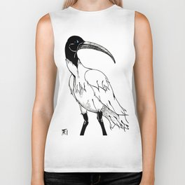 Thoth the Ibis Biker Tank
