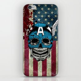 Captain-A iPhone Skin