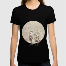 The walking dead Lizzie and Mik T-shirt