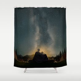 Moments of happiness Shower Curtain