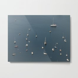 A Nice Day to Sail Away Metal Print