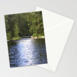 Relaxing View To The Lake Stationery Cards