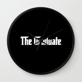 The Made Student 2 Wall Clock