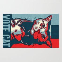 Vote Cat Rug