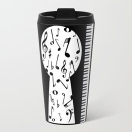 Piano Keyhole Travel Mug