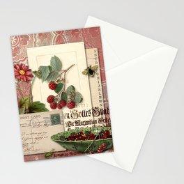 Raspberry Stationery Cards