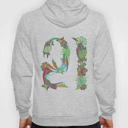 21st Floral Hoody