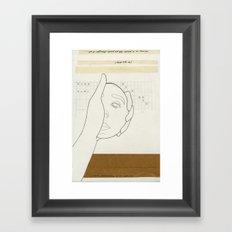 8 a.m. Framed Art Print