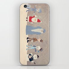Claymation Lineup  iPhone & iPod Skin