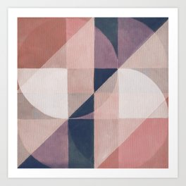 Geometric Breakdown 2 Art Print