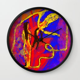 Primary Figure Model Wall Clock