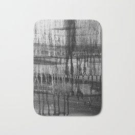 Grayscale Stains Bath Mat