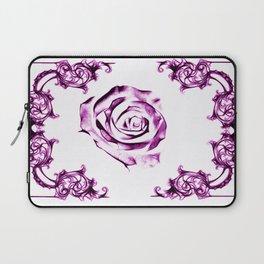 green damask rose Laptop Sleeve