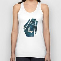 surrealism Tank Tops featuring My Favourite Swing Ride by Paula Belle Flores