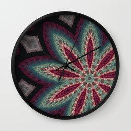FineLine Mandala 5a Wall Clock