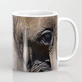 Elephant Portrait - Side Coffee Mug
